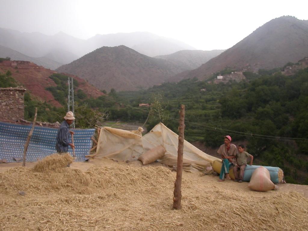 Vallée de L'Azaden, Toubkal Maroc