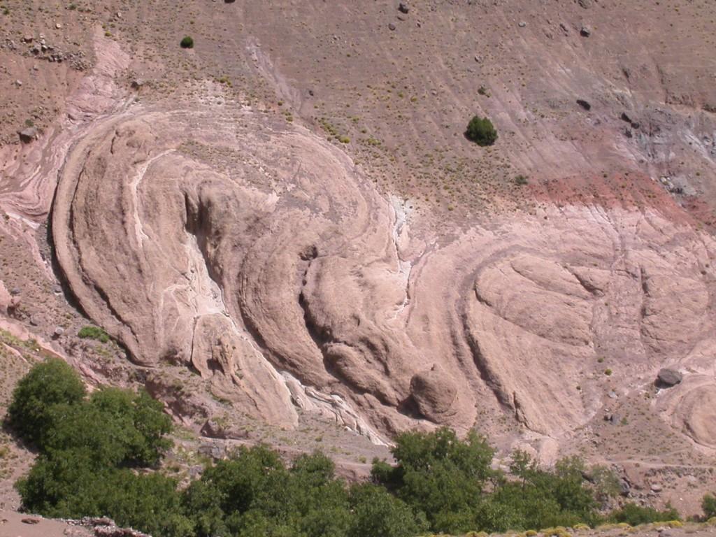 Formes géologiques, Atlas Toubkal Maroc