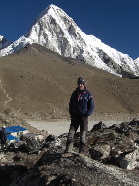 Sous le Kalapattar, Népal